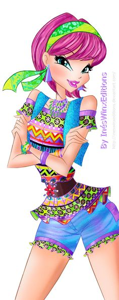 Tecna Etno Chic Fairy Couture - Winx Club 7 by InesWinxEditions on DeviantArt