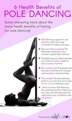 6 Health Benefits of Pole Dancing
