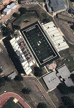 Turpin stadium in Natchitoches