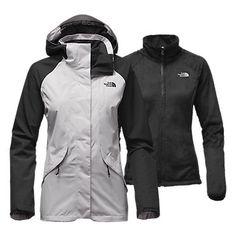 The North Face Women's Boundary Triclimate Rain Fleece Jacket