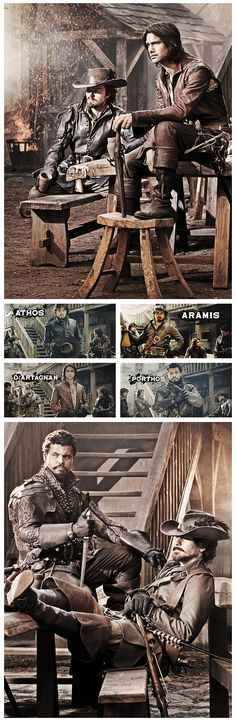 The Musketeers, i don't know why but i wanted to pin it for some reason.