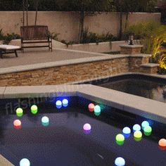 Now that nights are getting warmer, gotta show y'all our LED Light Up Garden Deco Balls. Makes for a chill summer evening floating color change orbs in your swimming pool, or use as pond lighting when you have party guests over. Also available with stick/stakes to plant in your garden or line a sidewalk!