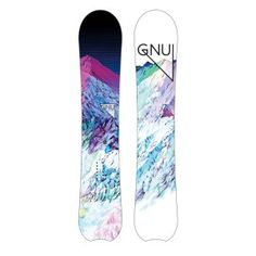 The Gnu Chromatic Women's Snowboard is a quiver killer that blurs the lines between freestyle and freeride, expanding your mind to think outside the box. Original Banana, Big Mountain, Skate Wheels, Snowboarding Men, Ski Shop, Hobbies And Interests, Winter Gear, All The Way Down, Extreme Sports