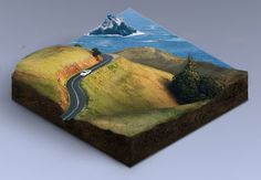 In this tutorial we are going to create a 3D isometric map made from combinations of a few landscape photos. There's no 3D software used in this project—we are going to use only Photoshop. | Difficulty: Intermediate; Length: Medium; Tags: Photo Manipulation, Adobe Photoshop, Icon Design, Isometric, How-To