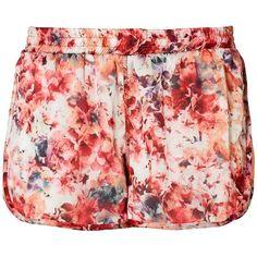 #Shorts mit #Blumenmuster ♥ ab 14,99 € ♥ Hier kaufen: http://stylefru.it/s912299 #sport #mit #stil