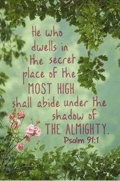 Love this verse! Makes me think of Joan Luke, my former pastors wife. She was always saying this. :)