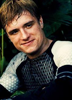 Peeta's smile is a pearl.