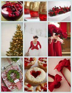Small Christmas wedding details