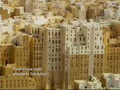 """SHIBAM, YEMEN: WORLD'S FIRST SKYSCRAPERS - This is the magnificent old city of Shibam, Hadramout, in Yemen, co-named """"Manhattan of the desert,"""" the world's first skyscrapers classified by the UNESCO, a world heritage site and a must-see when visiting Yemen."""
