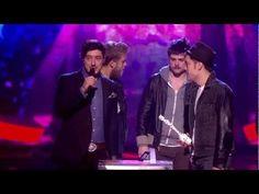 Mumford & Sons Win British Group Award   BRITs 2013