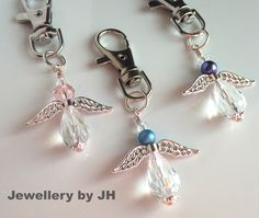 Angel key rings are an ideal stocking filler present for Christmas or Teachers present :)