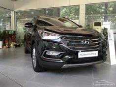 Hyundai Santafe 2017-2018 máy dầu