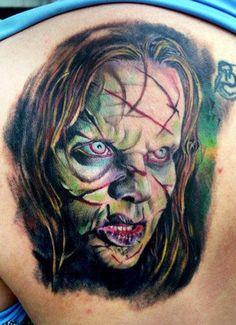 tattoo artist: Henry Anglas Padilla - Horror tattoo