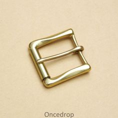 Single Prong Horseshoe Belt Buckle 35 mm 1 3//8/""