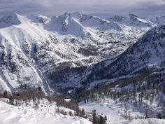 Isola 2000, ski resort one hour from Nice