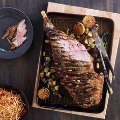 All-natural lamb, ready for your Easter dinner table.