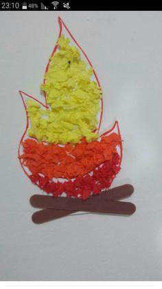 הכנת מדורה Easy Fall Crafts, Fall Crafts For Kids, Art For Kids, Diy And Crafts, Seasons Activities, Holiday Activities, Toddler Activities, Jewish Crafts, Educational Crafts