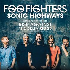 Foo Fighters, Rise Against and The Delta Riggs - Suncorp Stadium, Brisbane. 24 February 2015.