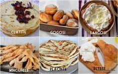 Langoși ungurești rețeta tradițională pas cu pas | Savori Urbane Camembert Cheese, Food And Drink, Dairy, Cooking Recipes, Sweets, Breakfast, Breads, Recipes, Pie
