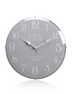 Cream Domed Classic Wall Clock