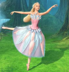 barbie swan lake Odette