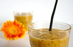 Cinco Quartos de Laranja: Sumo de maracujá, laranja e nectarina
