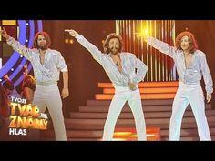 """Roman Vojtek jako Bee Gees - """"Stayin' Alive""""   Tvoje tvář má známý hlas - YouTube Roman, Capri Pants, Bee, Youtube, Dresses, Fashion, Vestidos, Moda, Capri Trousers"""