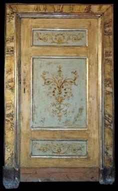 Antique Porte peinte par Sassyscribe