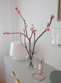 Cherry blossoms that will last forever Sakura, Creative Play, Nature Crafts, Bloom, Homemade, Crafty, Cherry Blossoms, Flowers, Fun