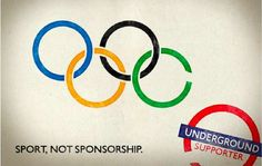 Sport, Not Sponsorship, unauthorized ads