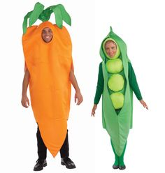 Peas and Carrot Couples Costumes! ♥