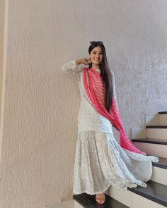 Like It 👍 or Love It 😘Krishna Mukherjee looks Super gorgeous Party Wear Indian Dresses, Designer Party Wear Dresses, Pakistani Dresses Casual, Dress Indian Style, Pakistani Dress Design, Indian Wedding Outfits, Indian Designer Outfits, Indian Outfits, Pakistani Bridal