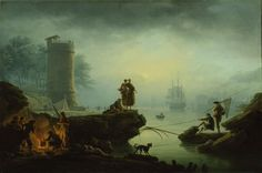 Claude Joseph Vernet  French, 1714-1789  Morning 1760
