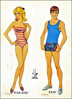 paper doll images | Here's a delightful slice of early 1970′s nostalgia, courtesy of ...
