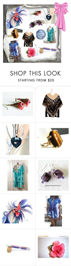 """""""Gift Shopping"""" by nadya-mendik ❤ liked on Polyvore featuring vintage"""