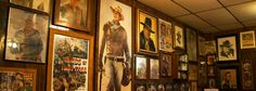 The Famous John Wayne Room at Longhorn bar and grill, happy hour, drink specials, San diego burgers, local craft beer including Benchmark IPA.