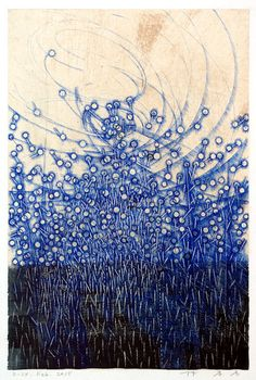 takahikohayashi:D-24.Feb.2015-ink on Gampi paperHAYASHI Takahiko 林孝彦 / Sacred Geometry <3