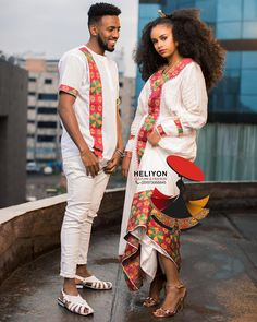 Ethiopian Wedding Dress, Ethiopian Dress, Ethiopian Traditional Dress, Traditional Dresses, Habesha Kemis, Culture Clothing, Braided Ponytail Hairstyles, Cute Relationship Goals, African Fashion