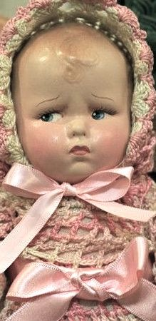 """15"""" Efanbee composition 'Baby Grumpy'"""