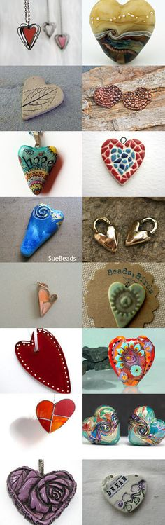 Hearty Heart Hearts by Susan Kennedy on Etsy--Pinned with TreasuryPin.com