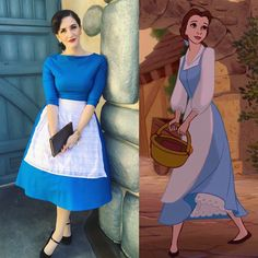 Belle Beauty and the Beast provincial Disneybound inspired pinup retro style Disneyland dapper day Belle Disneybound, Disneybound Outfits, Disney Outfits, Disney Cosplay, Disney Costumes, Belle Inspired Outfits, Disney Inspired Fashion, Dapper Day Outfits, Cute Outfits