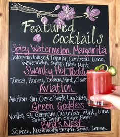 If you need us, we'll be at Swank with a Spicy Watermelon Margarita in hand.