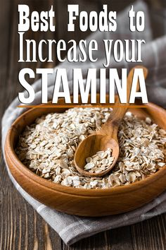 Do you often feel you don't have enough stamina? Do you keep feeling tired and bogged down by fatigue? Here is a list of stamina foods for you to check out & include to your diet