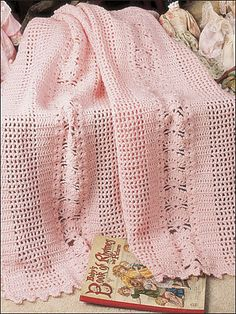 Ravelry: Shells & Lattice pattern by Lucille LaFlamme
