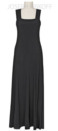 MAXI DRESS | Black | Joseph Ribkoff 2016 Collection.  Available now at ASPIRATIONS.