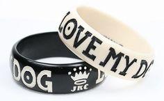 Love Me, Love My Dog Bangles