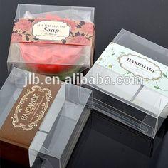 Elegant Cute Clear plastic soap packaging PVC box