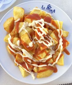Spicy Spanish Potatoes (Patatas Bravas)