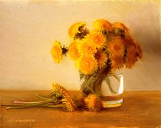Dandilions by Jeffrey T. Larson :: Art Painting Artist