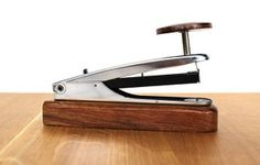 Steel/Sheesham stapler www.waringsathome.co.uk
